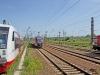 Gleise Richtung Dresden