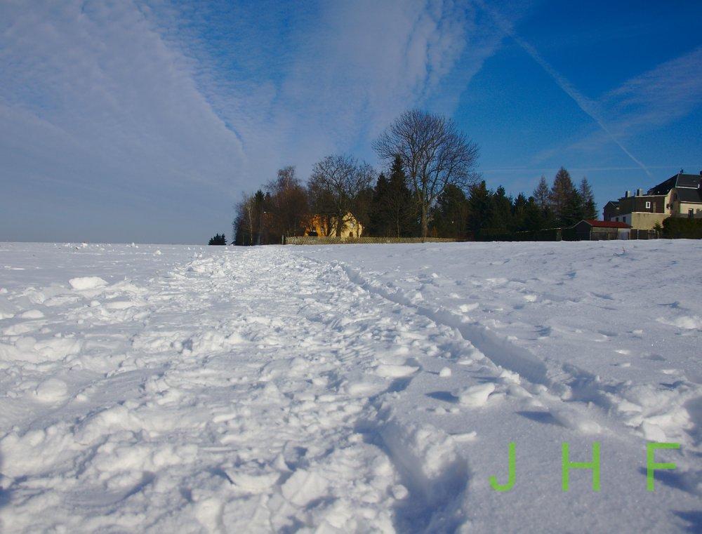 Schneestapfen-Winter Photos