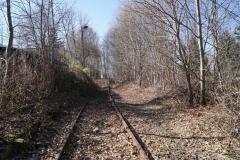 Gleis Richtung Hainstraße