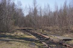 Gleis Richtung Burgstädter Straße