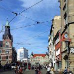 Erfurt Bahnhofstrasse kurz nach vier – Rush Hour