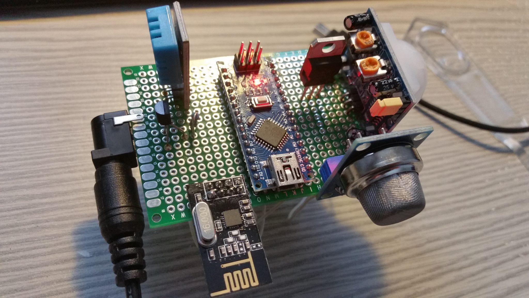 Fertiges Sensormodul