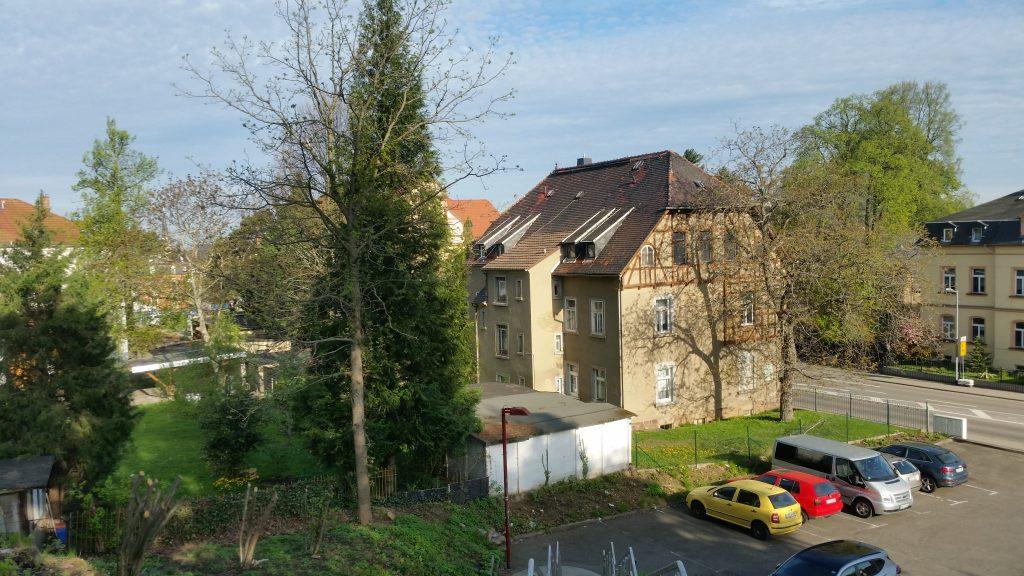 Architektur am Bahnhof Burgstädt