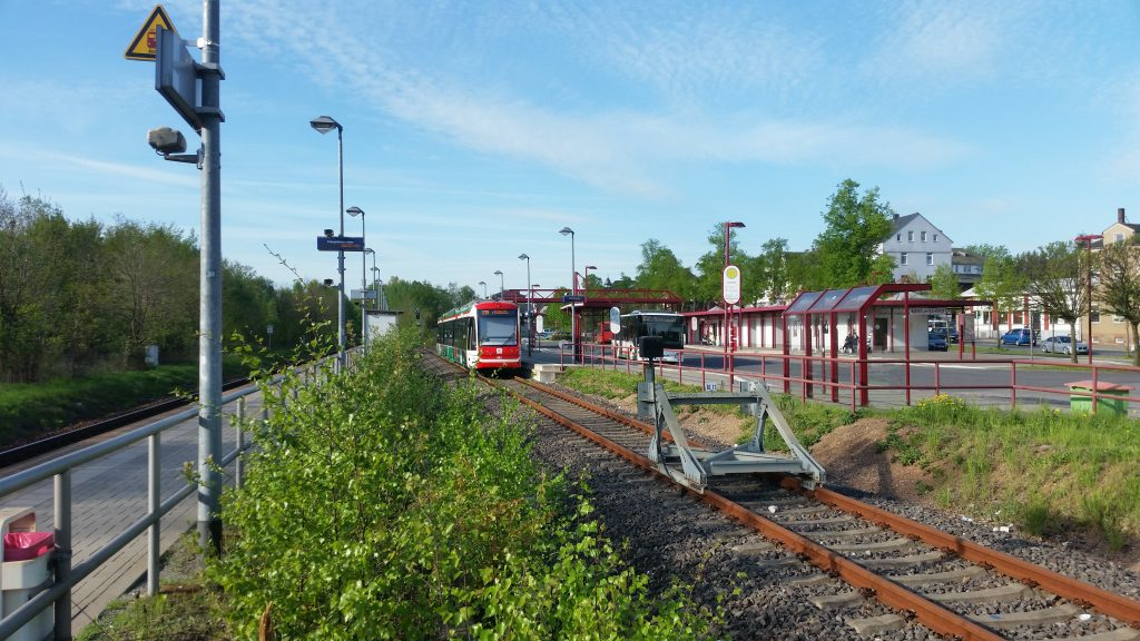 City Bahn Bahnhof Burgstädt