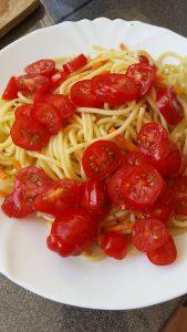 Spaghetti aglio e olio