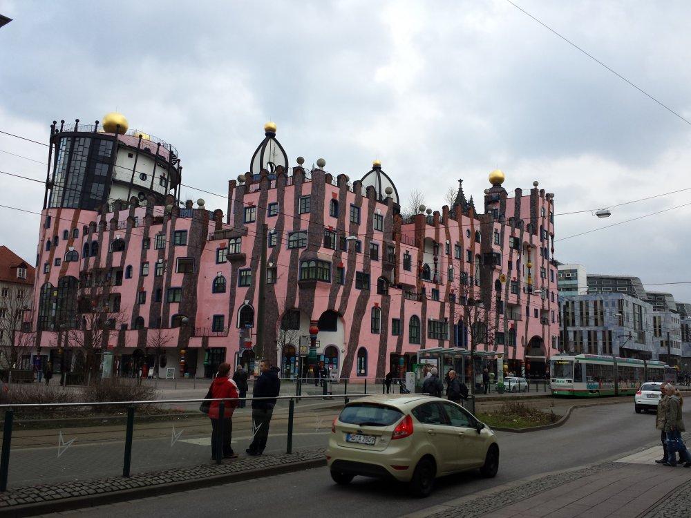 Hundertwasser Breiter-Weg-Magdeburg-Art-Hotel